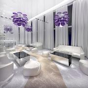 VIP интерьер 3d model