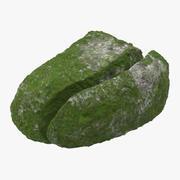 苔むした岩02 3d model