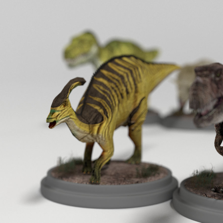 Dinosaur Pack royalty-free 3d model - Preview no. 19