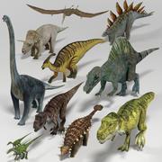 Pakiet dinozaurów 3d model