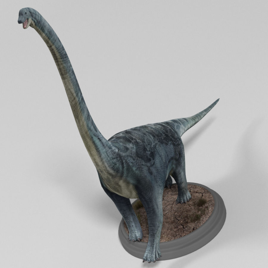 Dinosaur Pack royalty-free 3d model - Preview no. 10