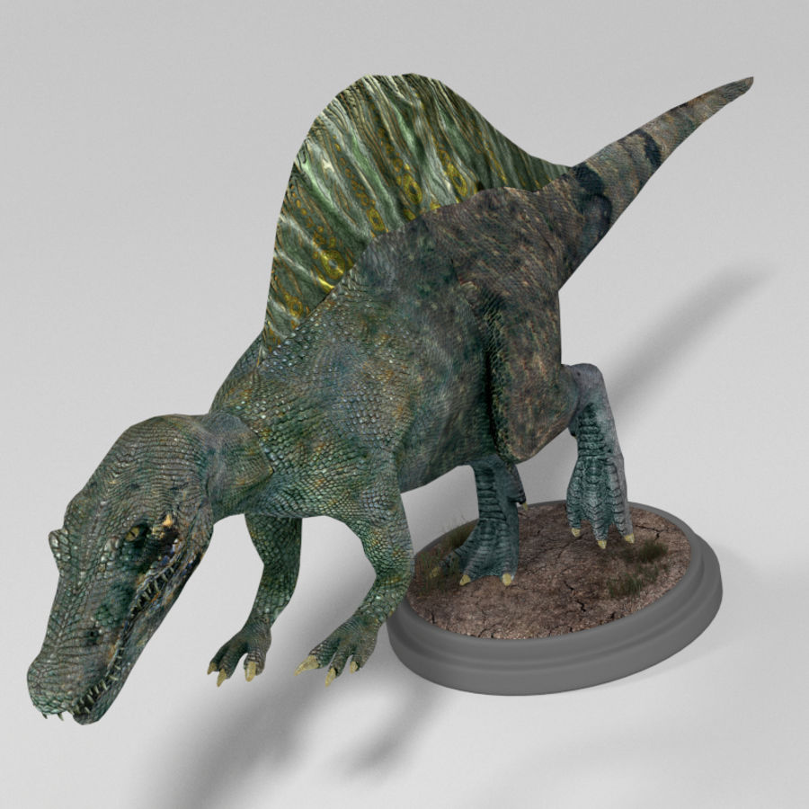 Dinosaur Pack royalty-free 3d model - Preview no. 11