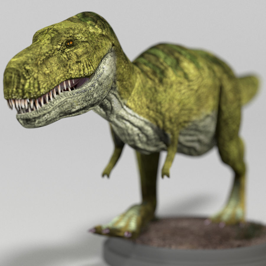 Dinosaur Pack royalty-free 3d model - Preview no. 21
