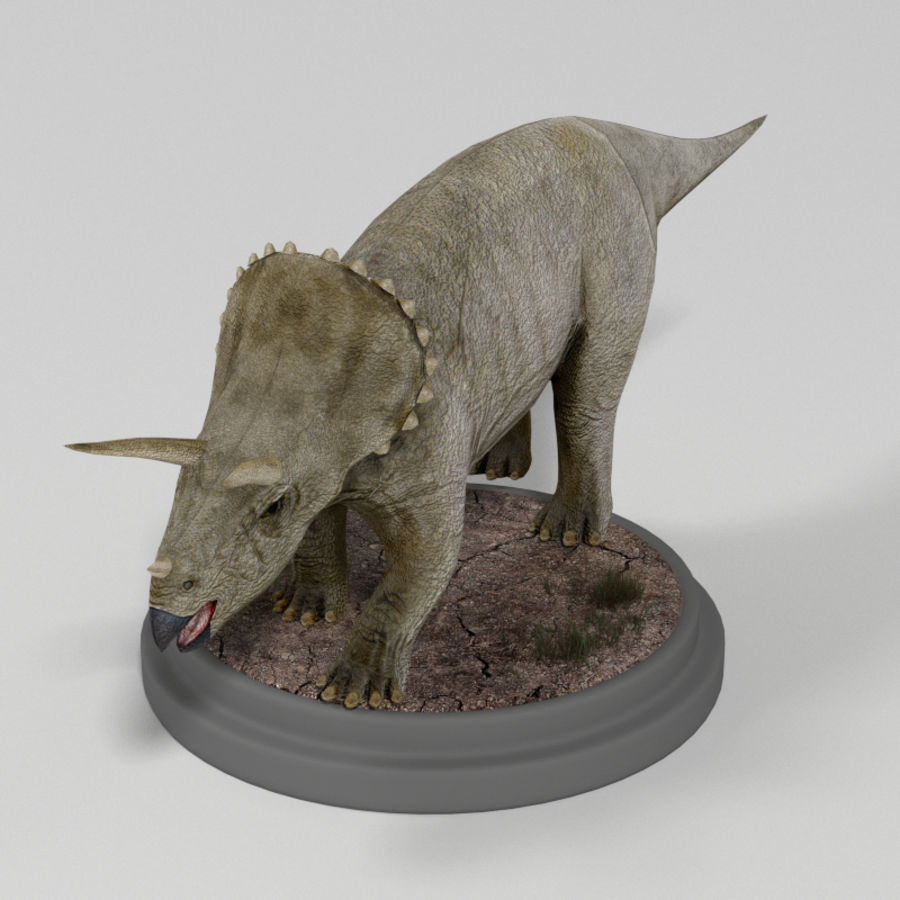 Dinosaur Pack royalty-free 3d model - Preview no. 8
