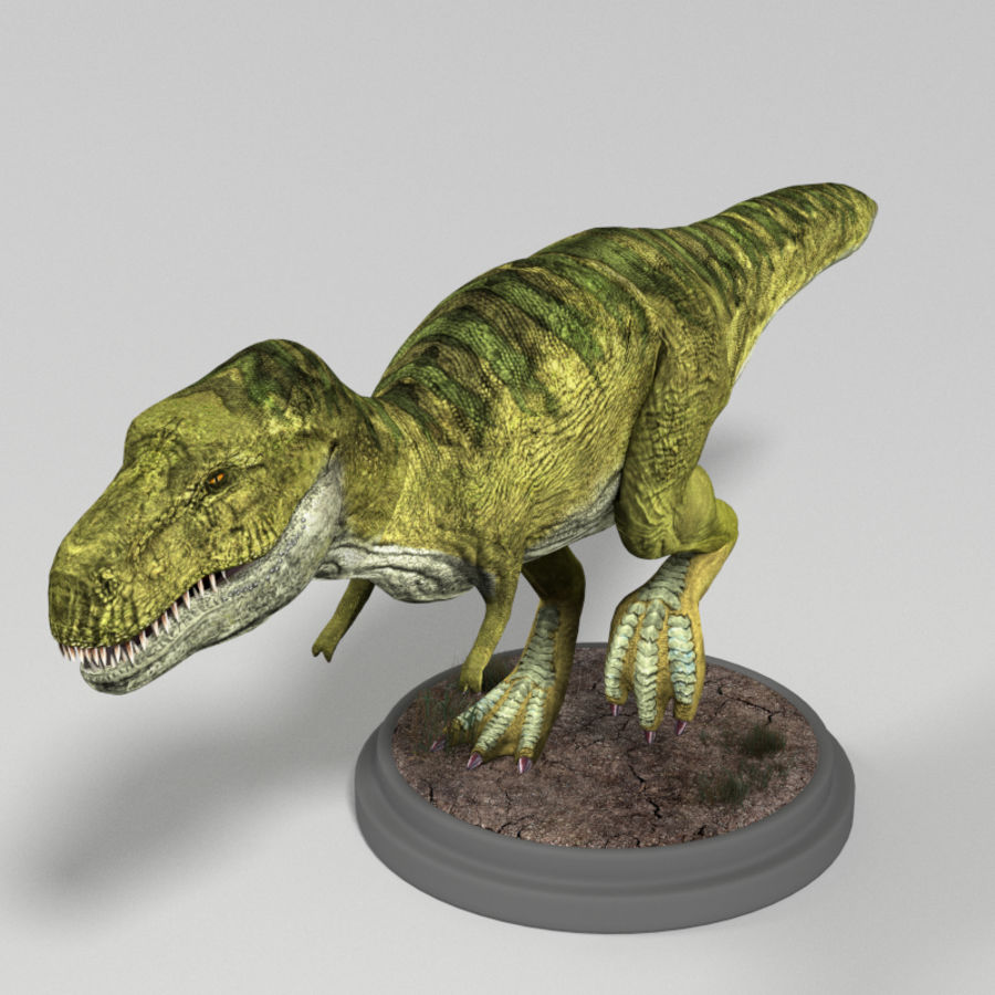 Dinosaur Pack royalty-free 3d model - Preview no. 7