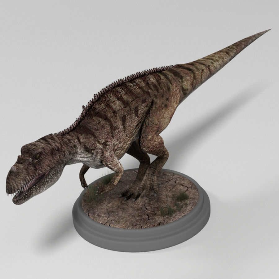 Dinosaur Pack royalty-free 3d model - Preview no. 13