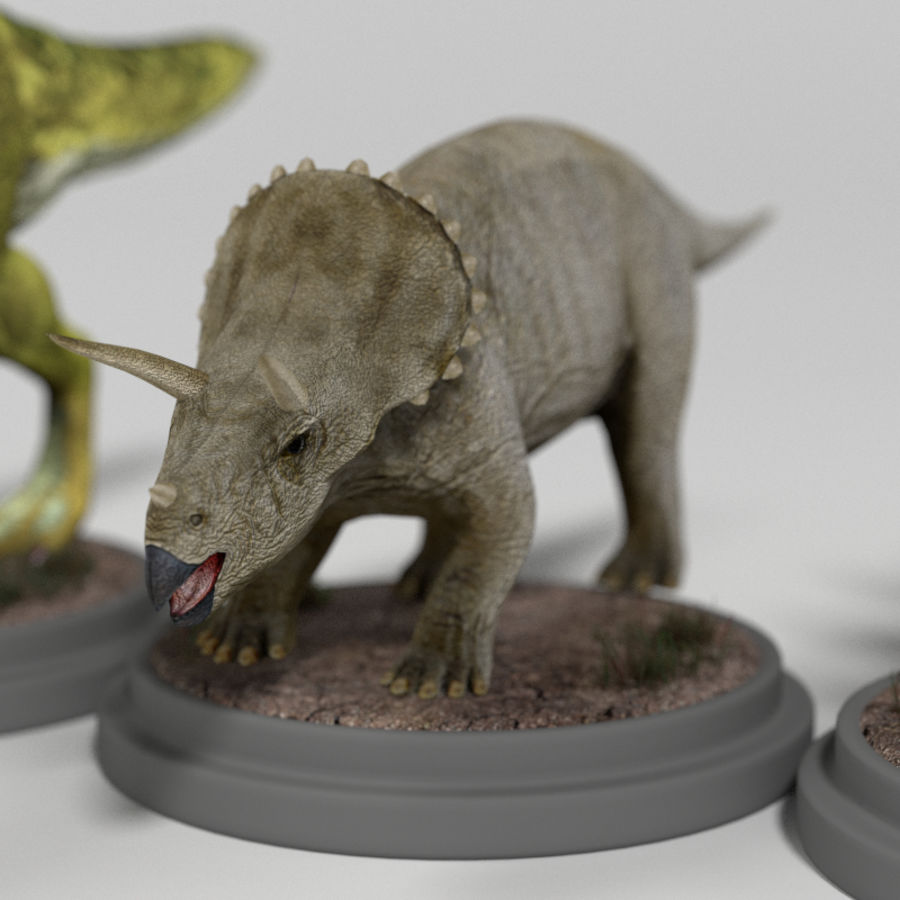 Dinosaur Pack royalty-free 3d model - Preview no. 22