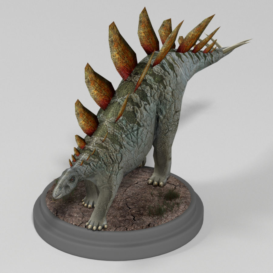 Dinosaur Pack royalty-free 3d model - Preview no. 9
