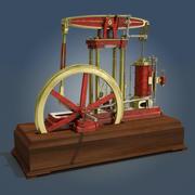 Straalmotor 3d model