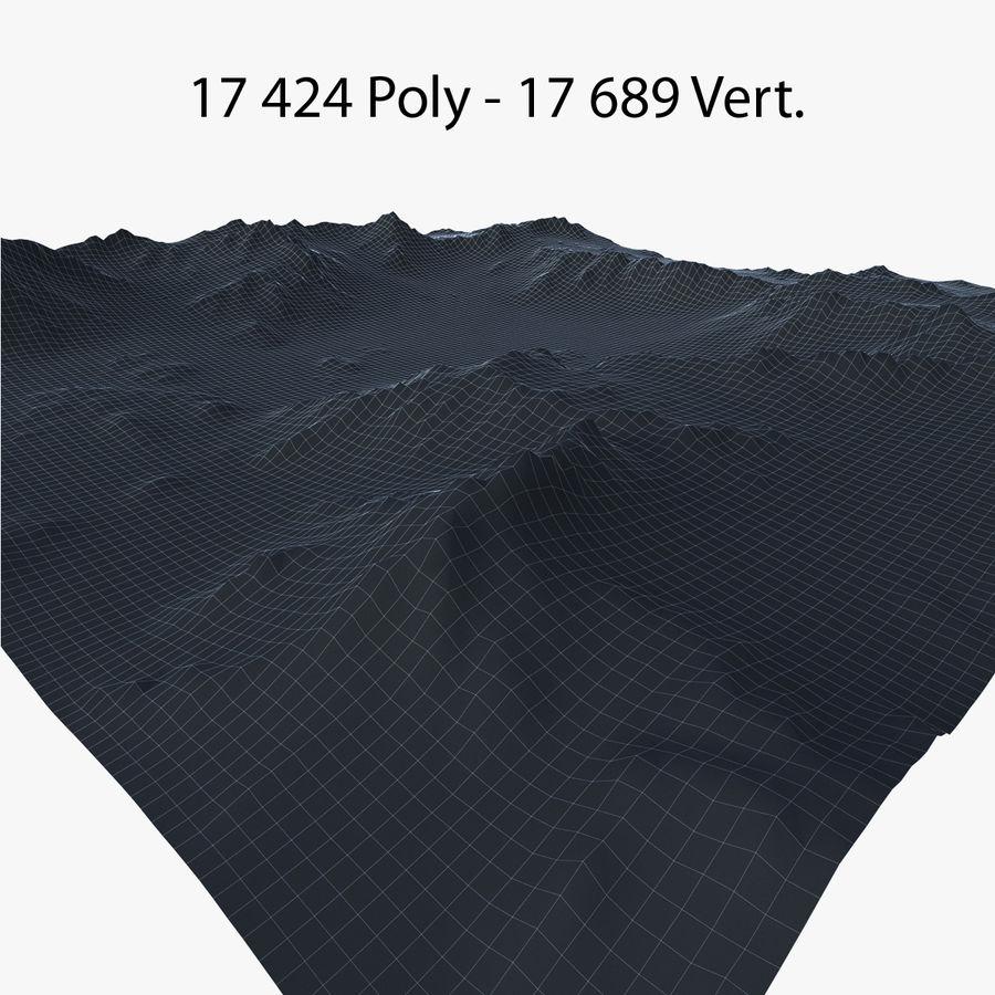 Mountain Landscape royalty-free 3d model - Preview no. 42