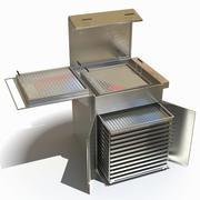 Machine à beignets 3d model