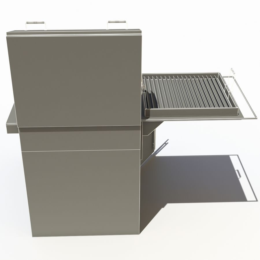 Donut Machine royalty-free 3d model - Preview no. 14