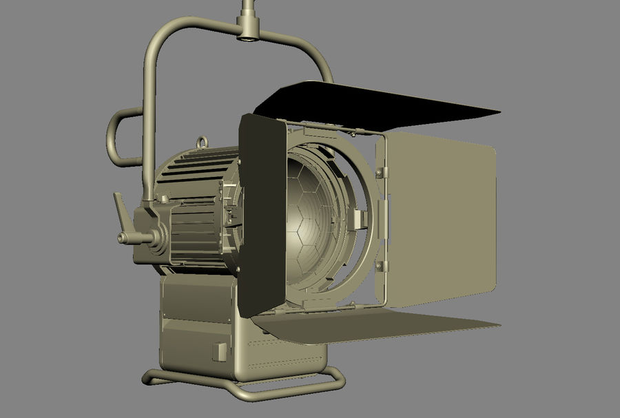 ARRI Compact 2500 Teater royalty-free 3d model - Preview no. 11