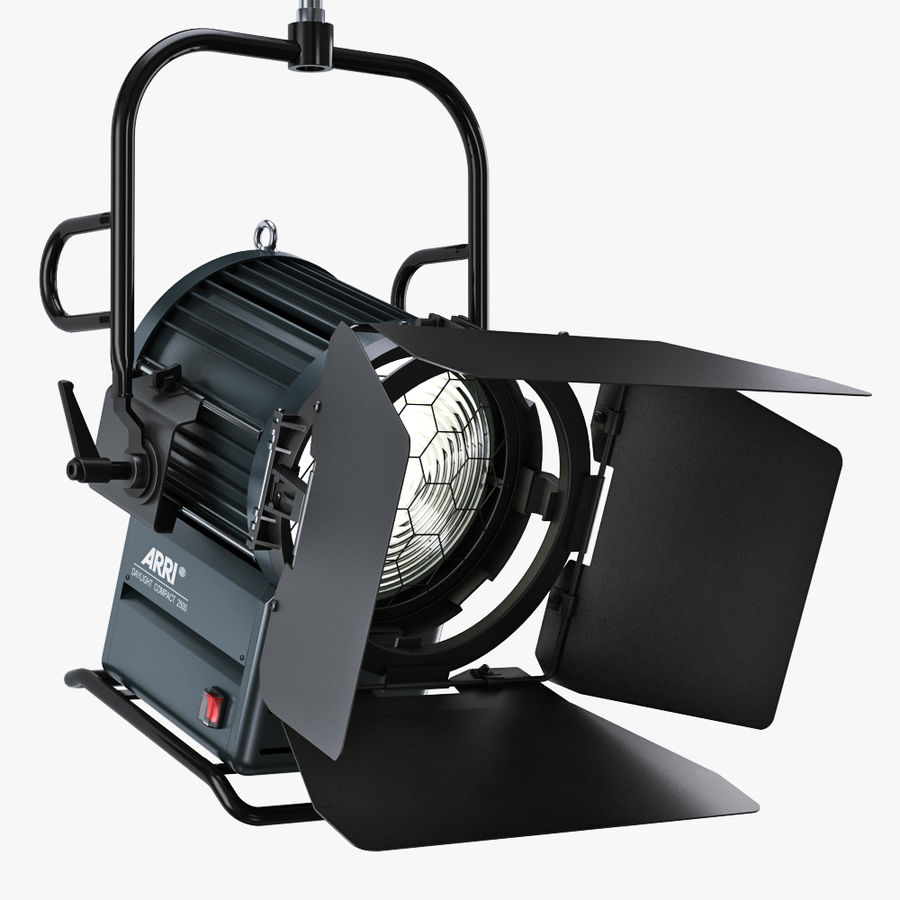 ARRI Compact 2500 Teater royalty-free 3d model - Preview no. 1