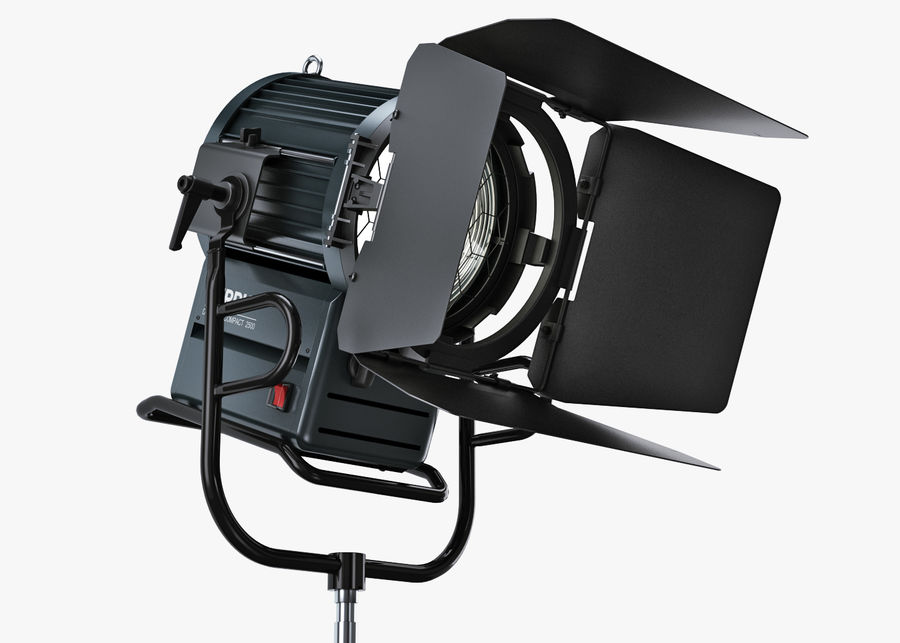 ARRI Compact 2500 Teater royalty-free 3d model - Preview no. 7