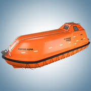Lifeboat Norsafe 3d model
