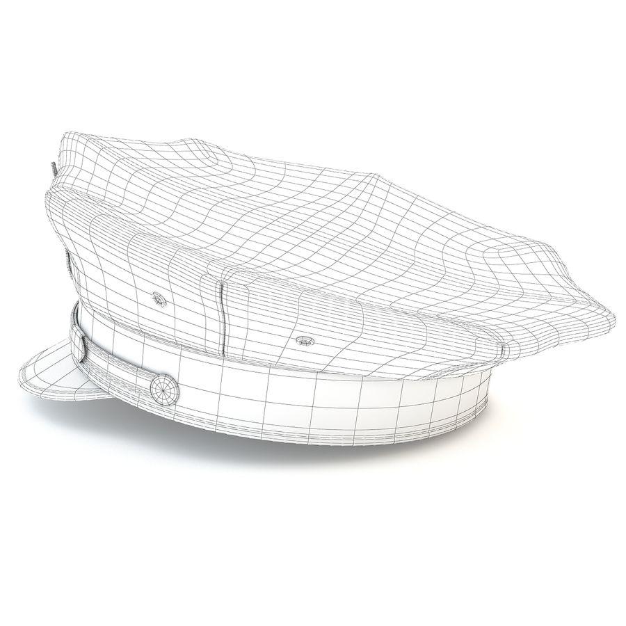 Cappello della polizia di New York royalty-free 3d model - Preview no. 12
