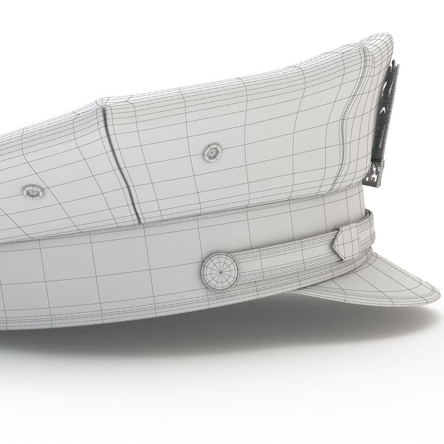 Cappello della polizia di New York royalty-free 3d model - Preview no. 15