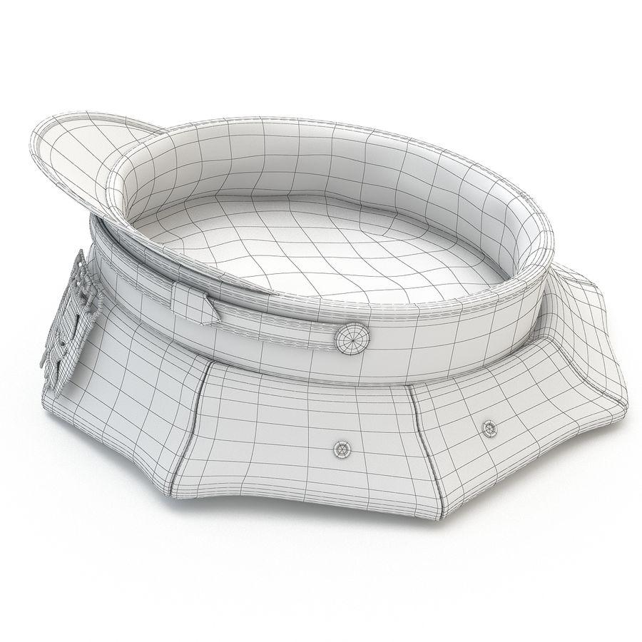 Cappello della polizia di New York royalty-free 3d model - Preview no. 17
