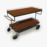 Food Cart 3d model