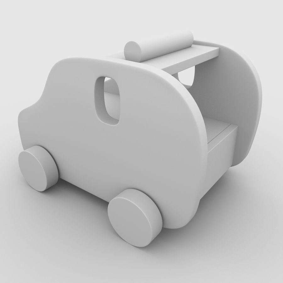 Leksak (polisbil) royalty-free 3d model - Preview no. 17