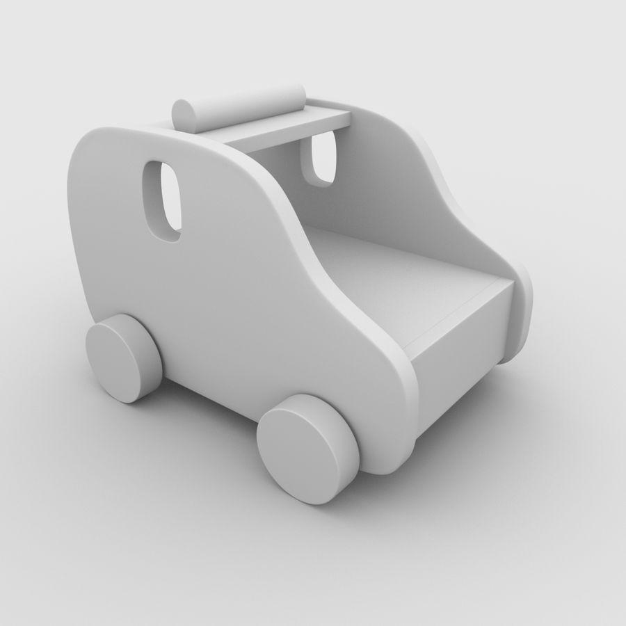 Leksak (polisbil) royalty-free 3d model - Preview no. 19
