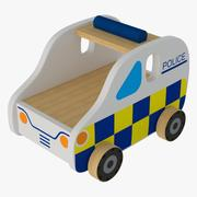 Zabawka (samochód policyjny) 3d model