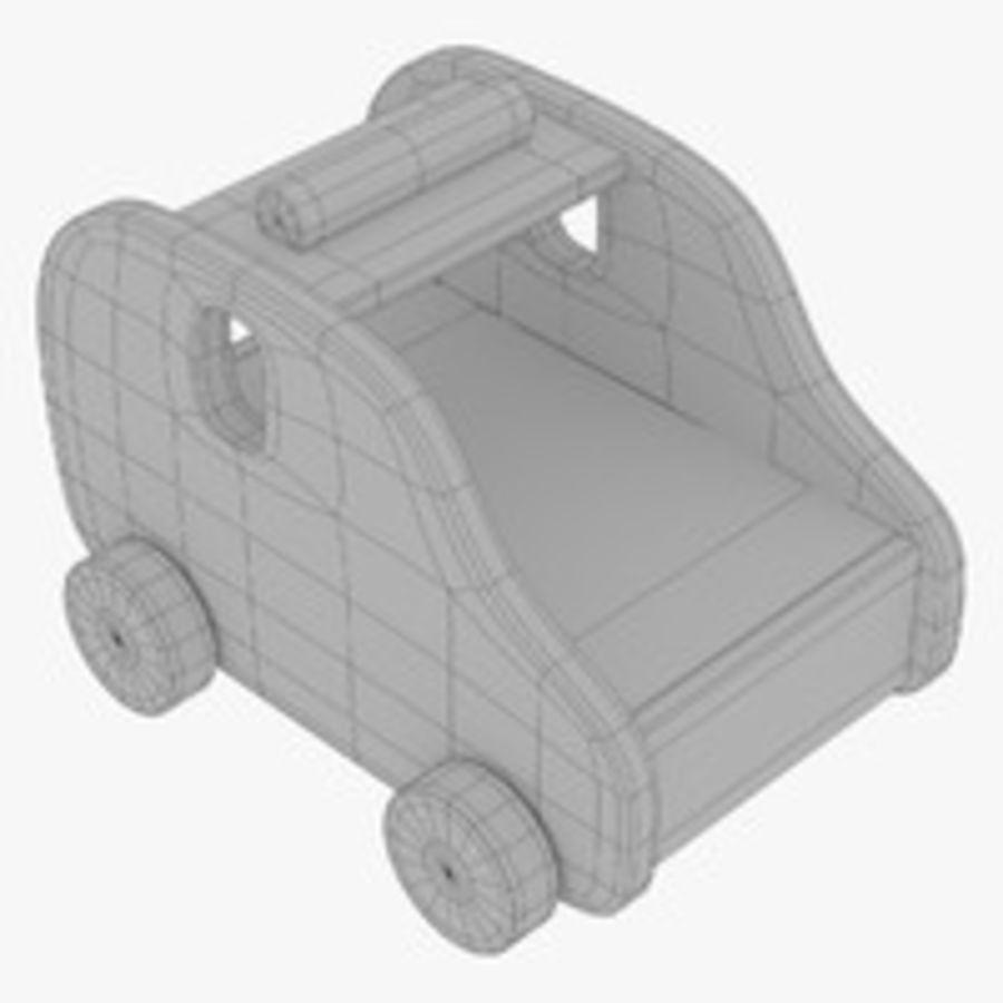 Leksak (polisbil) royalty-free 3d model - Preview no. 26