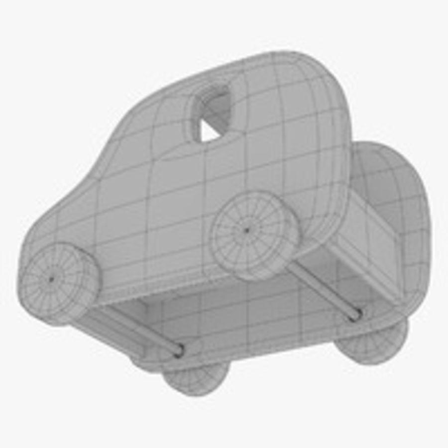 Leksak (polisbil) royalty-free 3d model - Preview no. 29