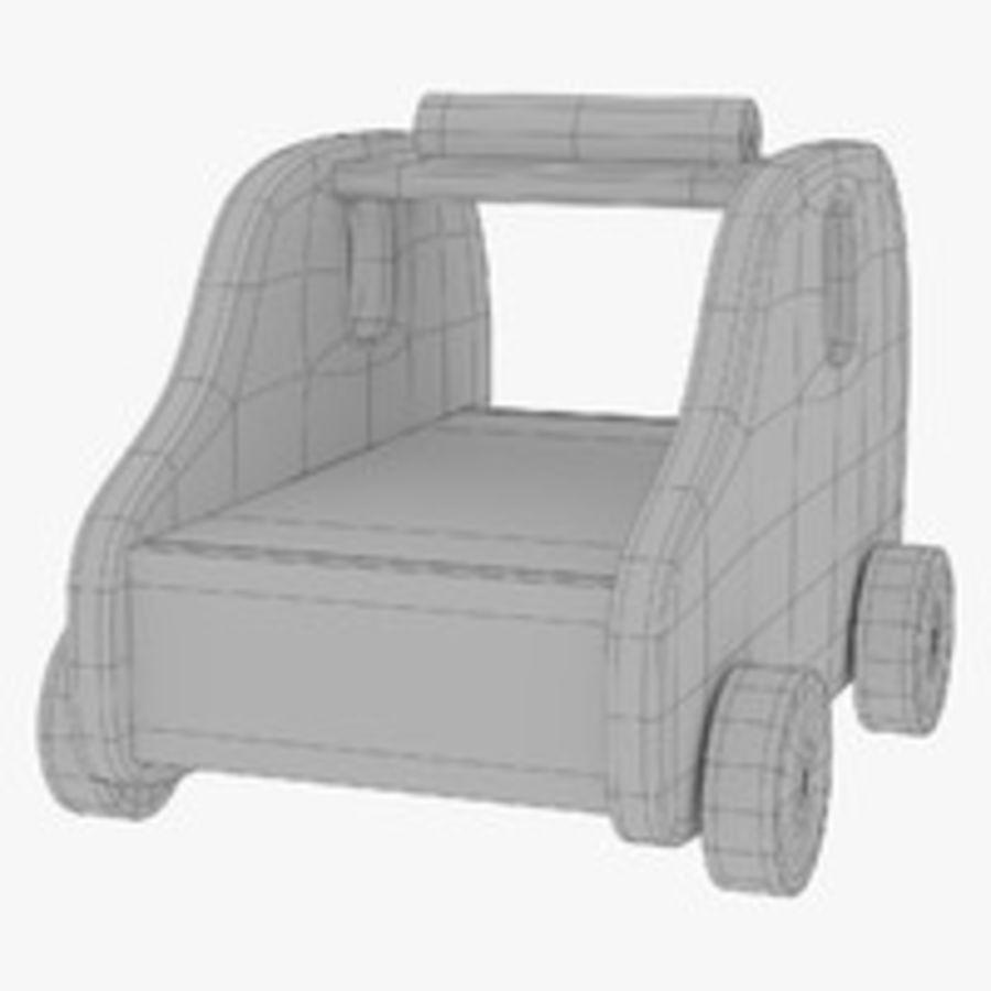 Leksak (polisbil) royalty-free 3d model - Preview no. 31