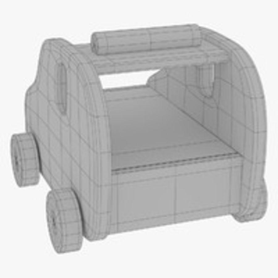 Leksak (polisbil) royalty-free 3d model - Preview no. 28