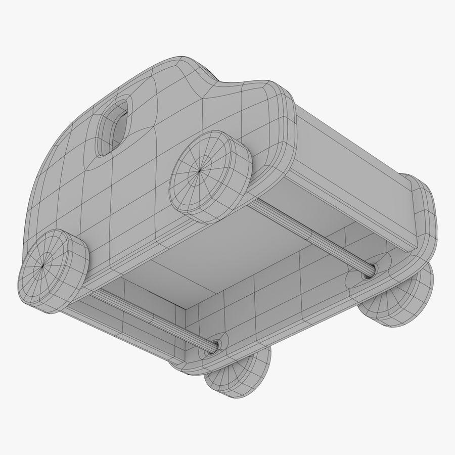 Leksak (polisbil) royalty-free 3d model - Preview no. 30