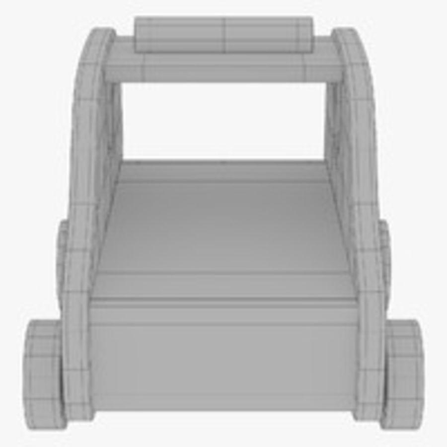 Leksak (polisbil) royalty-free 3d model - Preview no. 27