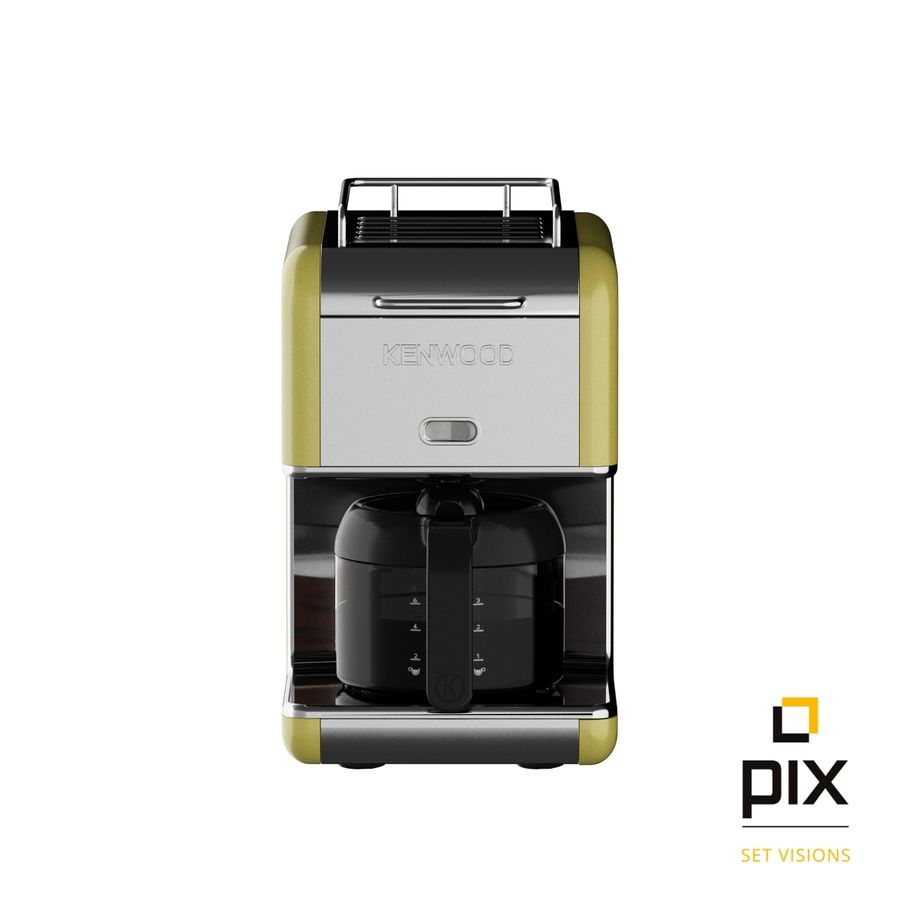 Kenwood K-Mix Coffee Machine royalty-free 3d model - Preview no. 1