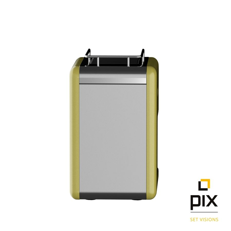 Kenwood K-Mix Coffee Machine royalty-free 3d model - Preview no. 4