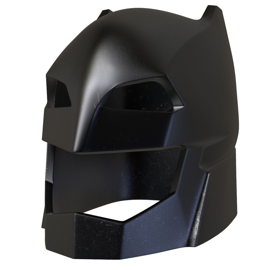 Bat Helmet royalty-free 3d model - Preview no. 10