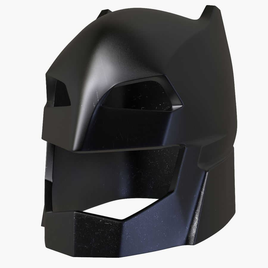 Bat Helmet royalty-free 3d model - Preview no. 1