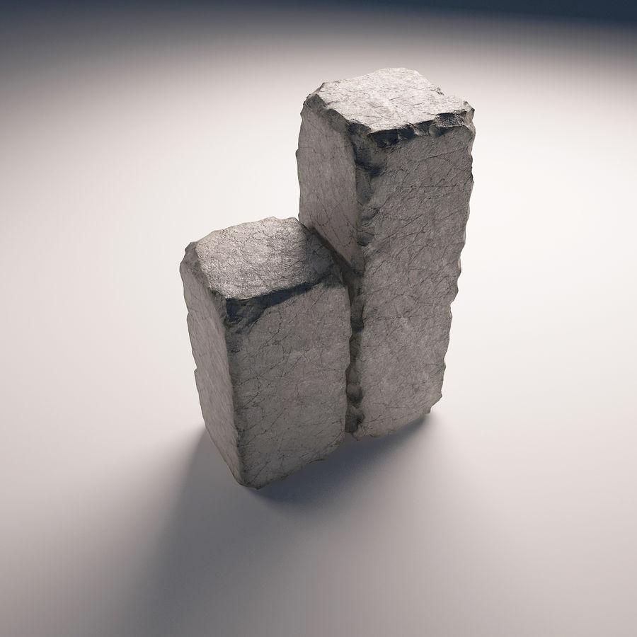 pack de pierre royalty-free 3d model - Preview no. 4