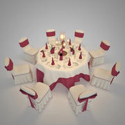 Wedding Hall 3d model