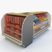 食品展示柜(1) 3d model