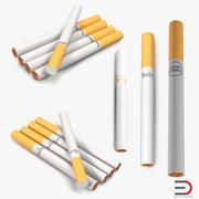 Kolekcja modeli 3D papierosów 3d model