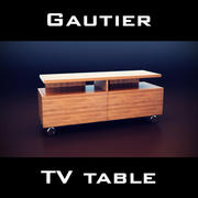 Gautier Manhattan TV Unit 3d model