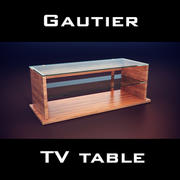 Gautier Neos TV Unit 3d model