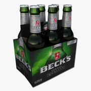 Six Pack de Beck 3d model