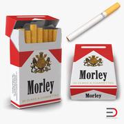 Cigarettes Morley 3D Modelsコレクション 3d model