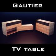 Gautier Quartz Chest Of Drawers 3d model