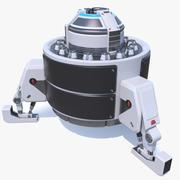Bilimkurgu Güç Modülü Cihazı 3d model