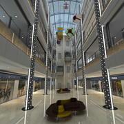 Centre commercial 5 3d model