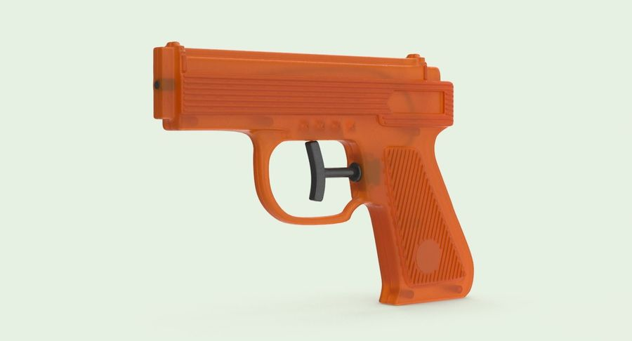 Vattenpistol royalty-free 3d model - Preview no. 3