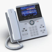 Telefone IP Cisco 8861 Branco 3d model